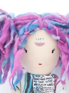 Close-up of Rebel Doll by Lily Blaise