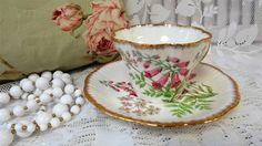 """Taza de té """"DEDALERA"""" Bone China de Salisbury y platillo Inglaterra tazas…"""