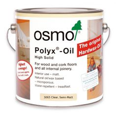 Osmo Polyx-Oil is available in a clear, satin-matt or matt finish for all wooden floors and interior joinery components. Can be used alone to provide a clear finish or applied over Osmo Polyx Oil Tints, Osmo Wood Wax Finish Transparent or Osmo Wood Wax Solid Wood Flooring, Engineered Wood Floors, Cork Flooring, Hardwood Floors, Natural Oils, Natural Wood, Natural Beauty, Oil Stains, Shopping