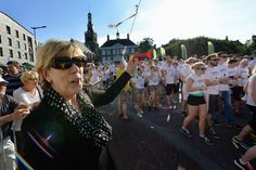 Start van de Colourrun Vincent's Bright Night op 24 juni.