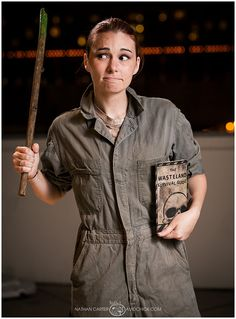 Dragon Con 2013 Believable Moira Brown Cosplay<<<< omg this is adorable