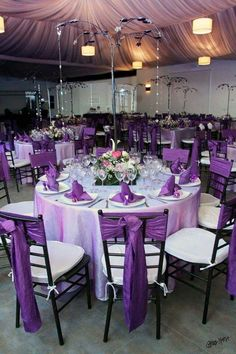 Wedding in lilac Wedding in lilac - - Reception Table, Reception Decorations, Event Decor, Wedding Centerpieces, Table Decorations, Purple Wedding Decorations, Wedding Chairs, Wedding Table, Wedding Reception