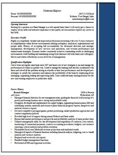 excellent resume sample for managers 1find more at