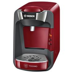 Bosch TAS3203GB Tassimo Suny Coffee Machine 1300 watts Removable 0.8 litre water tank IntellibrewTM System – Patented bar code technology…