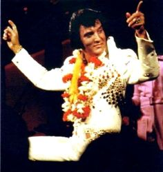 Elvis in concert in Hawaii january 14 1973.