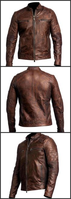 Cafe Racer Men Vintage Jacket: Its an Inspiring Cafe Racer Geniun Leather Jacket for Men. Shop Now an eye Catching Cafe Racer Men Vintage Geniun Leather Jacket at Discounted Price from our online store Eagleoutfits. #caferacer #men #vintage #menoutfit #hot #leatherjacket #fashionblogger #biker #blogger #vintagejacket #leatherfashion #fashion #like #love #likeforlikes
