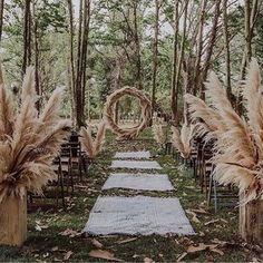 Dreamy forest ceremony inspiration via molist floristes photography Wedding Ceremony Ideas, Wedding Ceremony Script, Ceremony Backdrop, Ceremony Decorations, Wedding Trends, Wedding Ceremonies, Forest Wedding, Woodland Wedding, Boho Wedding