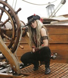 Janine From The Movie Pirates