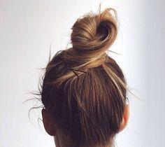 hair bun top knot
