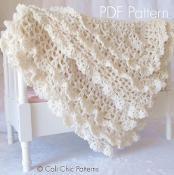 Victorian Crochet Baby Blanket #89 CCP - via @Craftsy