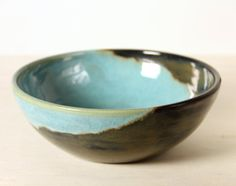 Ceramic Bowl Deep Ocean Blue by Mudamorphosis on Etsy