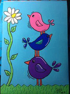 #draw #dessin #design #posca #drawing #bird #oiseaux
