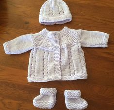Ravelry: Bella Baby Jacket pattern by marianna mel Source by