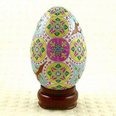 Pysanka by Halyna Kovalenko Goose Pysanky Easter Egg Urkainian Art -Inspiration