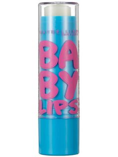 Maybelline New York Baby Lips SPF 20 Lip Moisturizing Balm http://beautyeditor.ca/2014/01/10/lip-balm-as-highlighter/