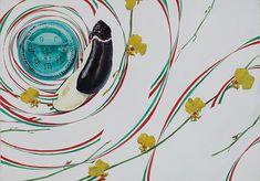 芸大・美大受験予備校 湘南美術学院 14d11 デザイン・工芸科 参考作品 Composition Design, Color Theory, Layout Design, Pop Art, Art Drawings, Japanese, Graphic Design, Texture, Abstract