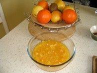Soupe d'oranges glacée au sauternes : Etape 3