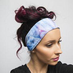 89242399f1c ZĽAVA 30 % Handmade šatka do vlasov  čelenka Ocean   jarisse - SAShE.sk -  Handmade Šatky