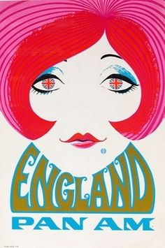 Gorgeous Vintage Travel Posters | England (1960's)