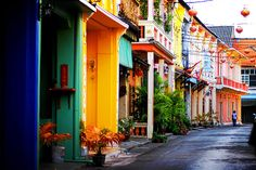Old Phuket Town , is verifiable town framing some portion of Phuket City . The principle road of Old Phuket Town  is Thalang Road and diffe...