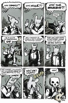 """This book, commemorating the anniversary of """"Maus,"""" includes an expansive interview with Art Spiegelman and an exhaustive collection of archival material. Comic Manga, Comic Art, Comic Book Artists, Comic Books, Bd Comics, Nerd, Marca Personal, Cinema, Graphic Novels"""