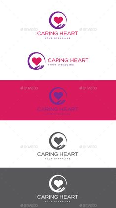 Caring Heart Logo: Humans Logo Design Template by creativebeat. Circle Logo Design, Circle Logos, Clover Logo, Home Health Care, Health Care Logo, Service Logo, Hospital Design, Medical Logo, Creative Logo