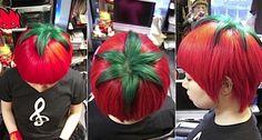 Corte de pelo tomate