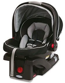 The top-rated Graco SnugRide Click Connect 35 baby car seat, in Gotham, is a very light car seat, making it easy for parents to carry baby from car to stroller and everywhere in between. The seat is d