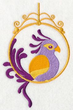 Feathers of Fancy 1 design (M5178) from www.Emblibrary.com