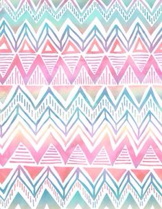 rainbow aztec wallpaper