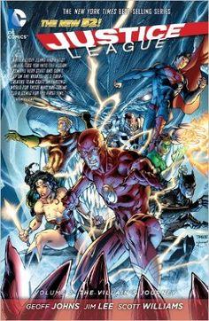 Justice League Vol. 2: The Villain's Journey, Geoff Johns, 9781401237653, 9/2