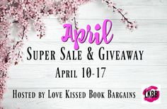 ☆҉➹☆Check out the April Super Sale & Giveaway! ☆҉➹☆҉ 42 Romance Authors are offering 57 novels. Plus enter to win a Kindle or one of three $25 Amazon Gift Cards.