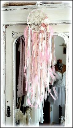 shabby chic - dreamcatcher - my shabby white home