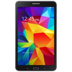"""Samsung Galaxy Tab 4 8"""" 16GB Wi-Fi Tablet featuring Android 4.4 - Black Release Date 5/01/14 Pre-order now!"""