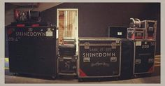 #Repost @hoogieontheroad: #StageRightCrew is ready to roll in for tonight big rock show.... Here is a photo of all @ebassprod @shinedown gear this run  #stagerightview #stagerightcrew #shinedownlive #shinedowntour #shinedowncrew #shinedown