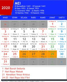 Hari raya idul fitri 2020 2021 and 2022 hari raya idul fitri is an indonesian holiday that celebrates the conclusion of the fasting month o. Periodic Table, Jakarta, Ramadan, Quotes, Design, Calendar, Qoutes, Dating, Periotic Table