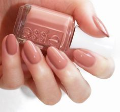 essie resort 2017 | sorrento yourself' a neutral earthy brown with hints of red