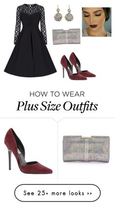 """""""Untitled #1101"""" by janicemckay on Polyvore featuring Steve Madden and Milly"""