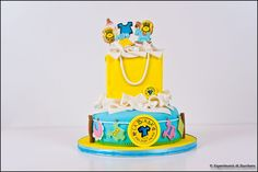 Cake for a baby shop