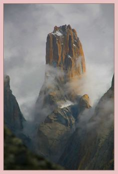 The Trango Towers, Baltoro Muztagh, Karakoram range, Baltistan, Pakistan