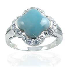 Larimar Rings, Free Shapes, Cz Stones, Heart Ring, Engagement Rings, Jewels, Pretty, Enagement Rings, Bijoux
