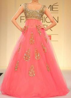 SENSATIONAL PINK LEHENGA TOPPED WITH GLITTERS