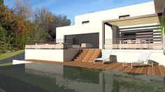 tlchargez nos plans de maisons darchitecte contemporaines sur terrain en pente la forte