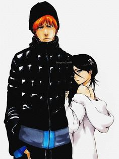 IchiRuki. Dang, look at rukia in this one! So kawaii and beautiful!