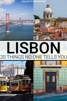 Check out these 20 things that no one ever tells you about traveling to Lisbon, Portugal. Learn about some of my most epic travel fails and use these secret Lisbon travel tips to plan an the perfect trip to Lisbon, Portugal. Portugal Vacation, Portugal Travel Guide, Europe Travel Guide, Travel Guides, Travel Destinations, Travel Hacks, Travel News, Travel Essentials, Travel Usa