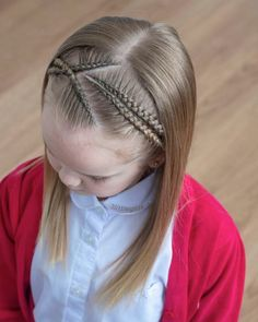 65 young girl's braid hairstyles mother could try for their princess Page 16 of 32 Beautrends Baddie Hairstyles, Box Braids Hairstyles, School Hairstyles, Updo Hairstyle, Prom Hairstyles, Baby Hair Cut Style, Pretty Braided Hairstyles, Braided Updo, Beautiful Braids