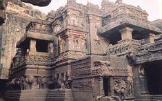 99 WOW: Is it Iram of the Pillars?هل هي إرم ذات العماد؟ Ajanta Ellora, Ajanta Caves, Iram Of The Pillars, Kailasa Temple Ellora, Vaishno Devi, Hindu Temple, Temple India, Visit India, Historical Monuments
