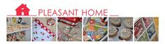 PLEASANT HOME: My method for sewing a Patchwork Style Scrap Quilt
