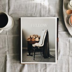 at the breakfast table | morning coffee | fellow magazine | photo styling inspiration