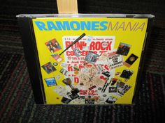 THE RAMONES: RAMONES MANIA CD, GREAT MUSIC GOOD CONDITION #PunkNewWave
